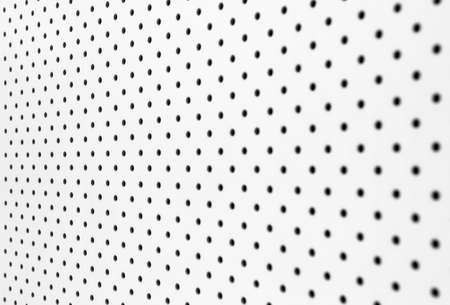 White pegboard background