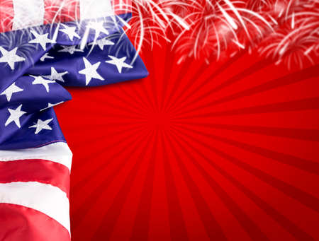USA 4 july independence day background