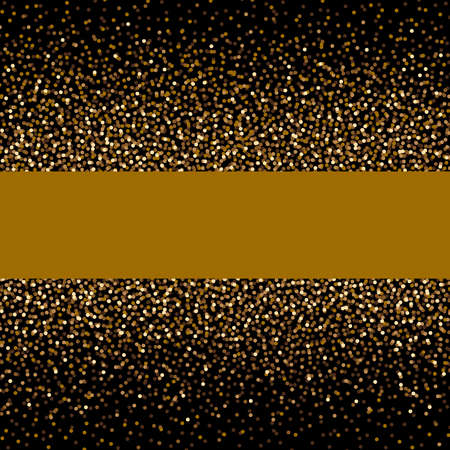 Christmas background concept design of gold gitter and shiny with copy space