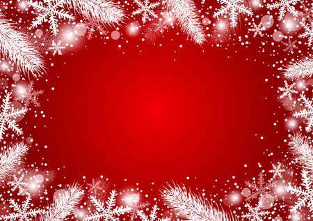 Snowflakes pattern. Illustration