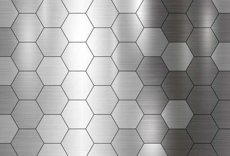 Metal texture patern illustration