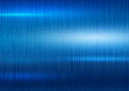 Blue metal texture background vector illustration Ilustração