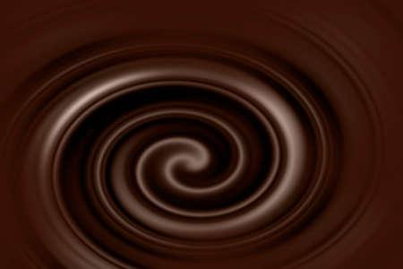 Melted chocolate background design Banco de Imagens - 93562095