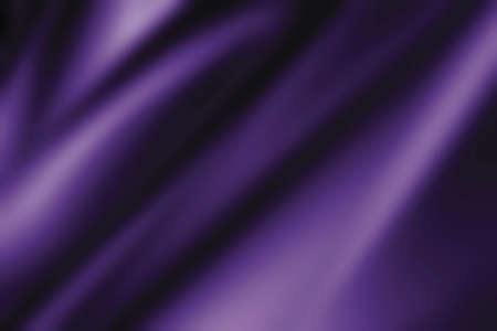 Violet fabric background with copy space Stock Photo