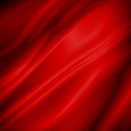 Red fabric texture background with copy space Stock Photo