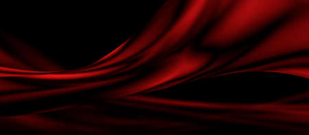Red luxury fabric background with copy space Stok Fotoğraf