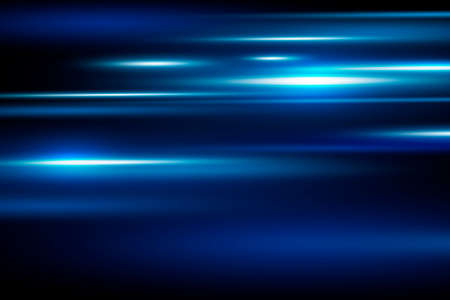 Abstract blue speed motion background vector illustration