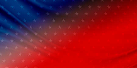 USA banner background design with copy space Stock Photo