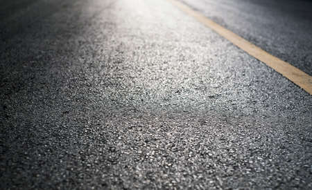 Blank asphalt road with light 免版税图像