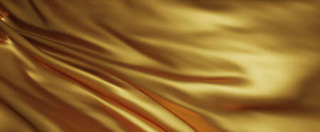 Gold luxury fabric background 3d render