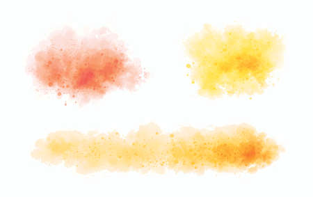 Watercolor on white background vector illustration 矢量图像