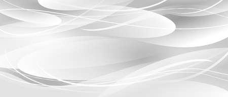 White abstract background banner design vector illustration