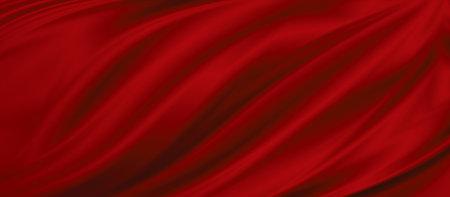 Red fabric texture background illustration 免版税图像