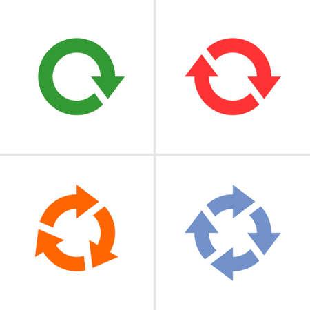 blue arrow: Web internet design element Illustration