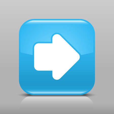 Simple button with arrow signs  Vector