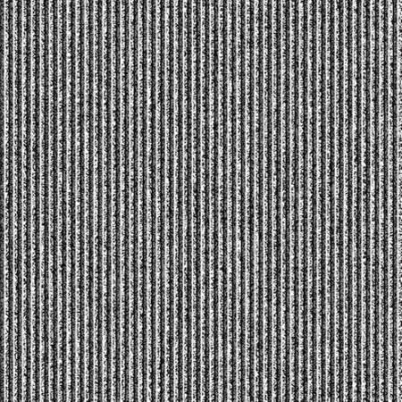 Seamless texture with noise grainy effect and vertical lines for background. Black and white colors template square format size. Illustration