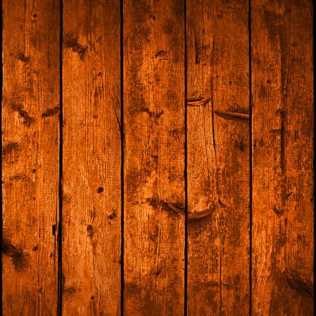 Realistische textuur houten planken met natuurlijke structuur. Lege bruine kleur achtergrond vierkant formaat. Vector illustratie design elementen op te slaan in 10 eps