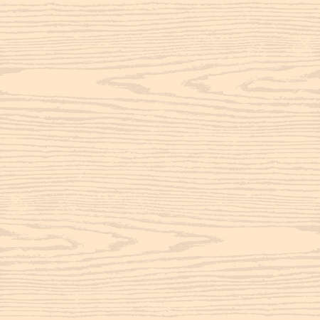 floorboard: Light beige wood texture background in square format. Blank natural pattern swatch template. Realistic plank with annual years circles. Flat style. Vector illustration design elements in 10 eps