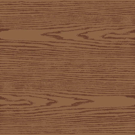 floorboard: Brown wood texture background in square format. Realistic plank with annual years circles. Natural pattern swatch template in flat style. Vector illustration design elements in 8 eps
