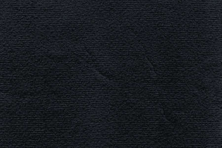 Black paper watercolor texture with damages, folds and scratches. Grunge empty blank background in horizontal format with copy space for text. Vector illustration clip-art design element save in 8 eps Illustration