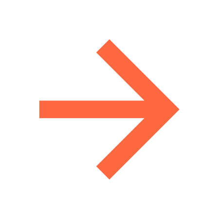 Arrow sign direction icon Vector illustration Illustration