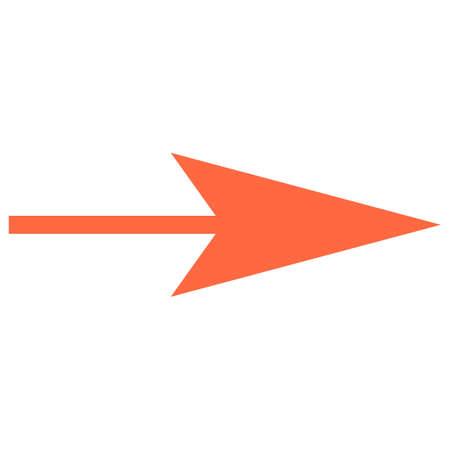 矢印記号方向アイコン ナビゲーション ボタン ポインター ピクトグラム。迅速かつ簡単なカストマイズ図形は、背景から分離されました。ベクトル イラスト デザインのグラフィック要素。 写真素材 - 85722974