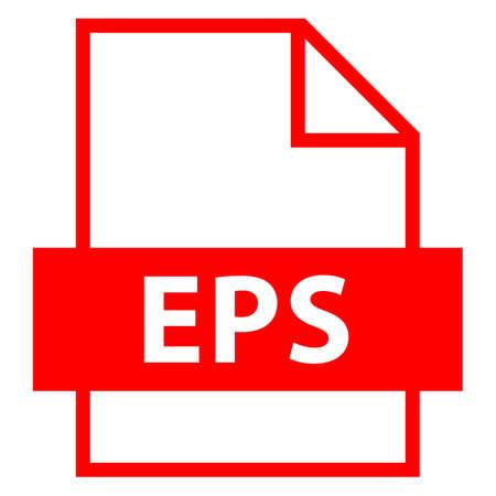 모든 디자인에서 사용하십시오. 파일 이름 확장 아이콘 EPS 플랫 모드로 캡슐화 된 포스트 스크립트. 빠르고 쉬운 recolorable 모양. 벡터 일러스트 레이 션