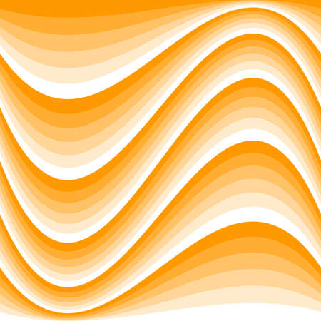 Abstract orange and white color seamless pattern in square size. Illustration