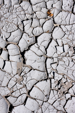 Texture, background of dry cracked earth ground. Global shortage of water on planet. Deep cracks in land as symbol of hot climate and drought. Concept of global warming