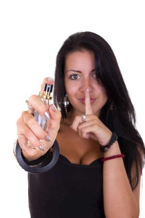fatal: secret of woman fatal  seduction Stock Photo