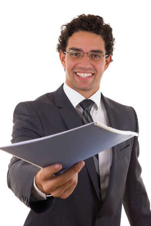 worthy: business opportunity for worthy ambicious people Stock Photo