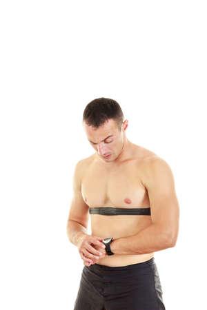 puls: Impuls Sport i monitor pracy serca z zegarka i pasa piersiowego, impulsu pomiarowego i bicie serca