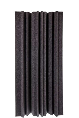 anti noise: black gray  microfiber foam insulation for noise in music studio or acoustic halls , rooms or houses , professional studio insulation material , noise isolation , noise isolating protective and shock absorber foam wall
