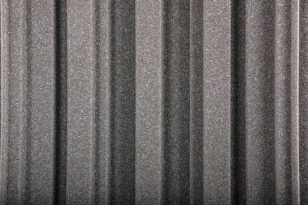 noise isolation: Closeup of acoustic foam wall, macro
