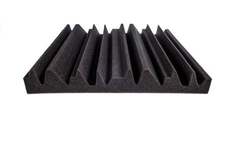 anti noise: piece of microfiber foam insulation for noise in music studio or acoustic halls , rooms or houses , professional studio insulation material , noise isolation`