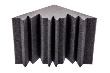 anti noise: microfiber foam insulation for noise in the corners of the music studio or acoustic halls, rooms or houses