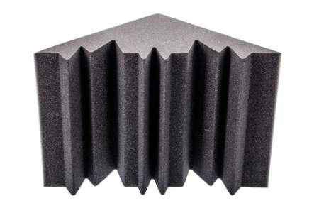 anti noise: schiuma isolante in microfibra per il rumore negli angoli dello studio della musica o sale acustiche, camere o case Archivio Fotografico