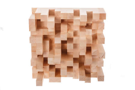 anti noise: photo of skyline wooden music diffusor , professional room diffusion panel isolated on white background