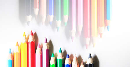 color pencil: wallpaper of color pencil