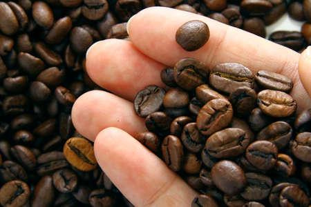 close up: close up of coffee