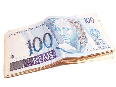 valuta: reais Stock Photo