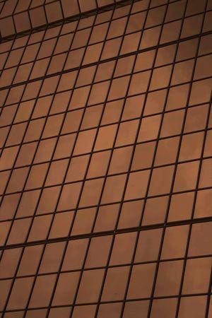glas: Glas office building Stock Photo