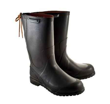 Rubber boots Banco de Imagens - 2584079