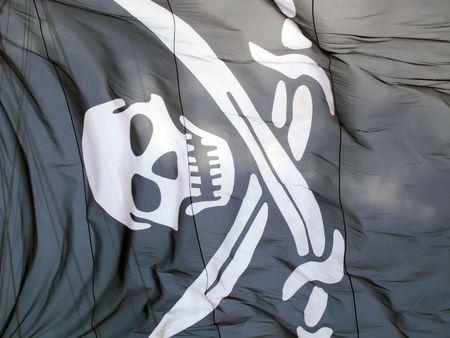 globetrotter: Pirate flag Stock Photo