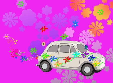 Hippie car fantasy