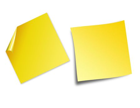post it notes  Stock Photo - 2684227