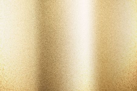 reflective: gold metallic background - put your text on it!