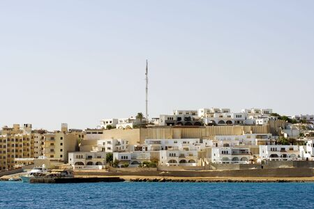 The expanding part of Sekalla in Hurghada Egypt Stock Photo