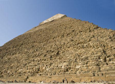 chephren: The great pyramid of pharaoh Chephren (Khafre) on the giza plateau, Egypt