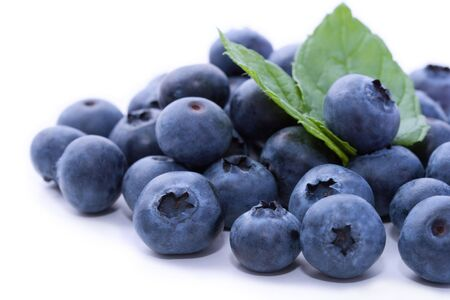 berries: Tasty fresh organic blueberries
